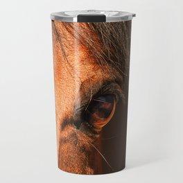 eye of horse. horse collection Travel Mug