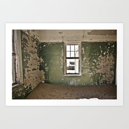 Abandoned house - Landscape Photography #Society6 Art Print