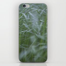 Grass abstract iPhone Skin