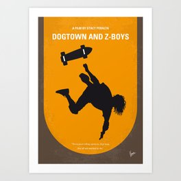 No450 My Dogtown and Z-Boys minimal movie poster Art Print