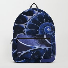 Blue fossil Backpack
