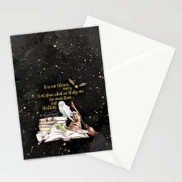 Our Choices - Golden Dust Stationery Cards
