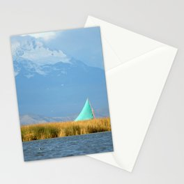 Titicaca sail 1 Stationery Cards