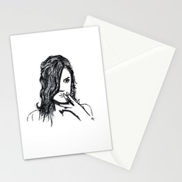 Girls don't cry Stationery Cards