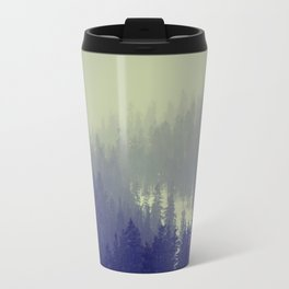 winter wonderland Metal Travel Mug