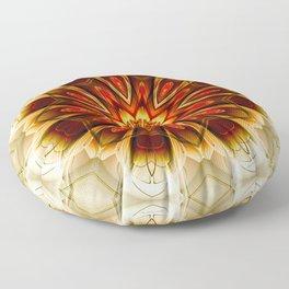 Mandalas from the Depth of Love 21 Floor Pillow