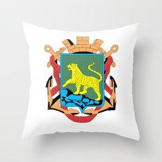 VLADIVOSTOK Throw Pillow
