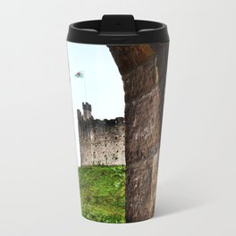 Cardiff Castle, Wales. Travel Mug