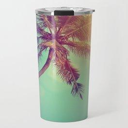 Palm Tree in Sri Lanka Travel Mug