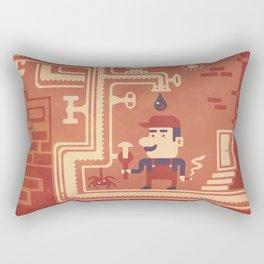 Mario at work Rectangular Pillow