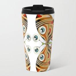 four eyes butterfly (ORIGINAL SOLD). Travel Mug