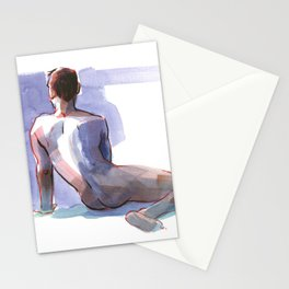 BRYAN, Nude Male by Frank-Joseph Stationery Cards