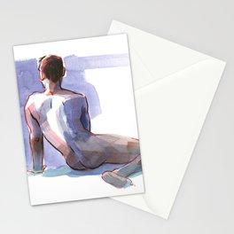 BRYAN, Nude Male by Frank-Joseph Stationery Cards