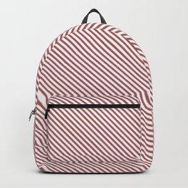 Dusty Cedar Stripe Backpack