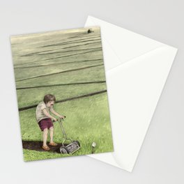 About mowing Stationery Cards