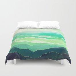 Emerald Spring Duvet Cover