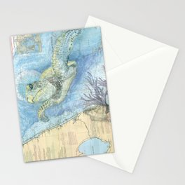 West Palm Beach Turtle Stationery Cards