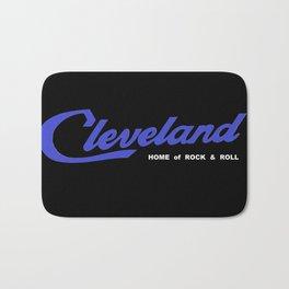 Cleveland in Blue Bath Mat