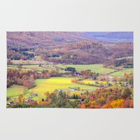 tennessee Area & Throw Rugs featuring Tennessee Country 2 by Mary Timman