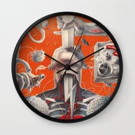 Anatomy of Lust Wall Clock