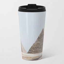 Pyramids of Giza Travel Mug
