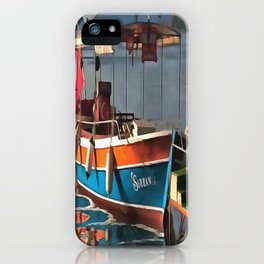 Sultan Taxi Boat Marmaris iPhone Case