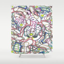 Embryo Shower Curtain