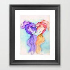 Only Fish In The Sea II Framed Art Print