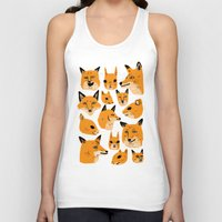 woodland Tank Tops featuring Woodland by Jack Teagle