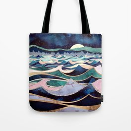 Moonlit Ocean Tote Bag