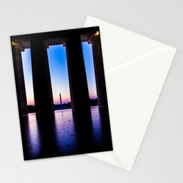 The View From Abe's Window Stationery Cards