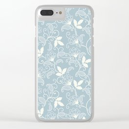 flower seamless Clear iPhone Case