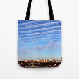 Blue Sky Toronto Tote Bag