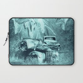cars and butterflies in moonlight Laptop Sleeve