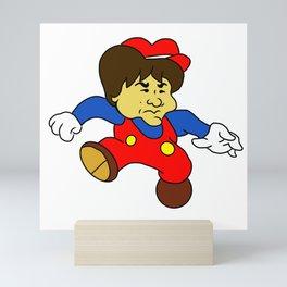 Jump Man Shigeru Miyamoto Mini Art Print