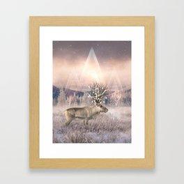 Stillness of Winter Framed Art Print