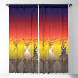 Night Tipi Blackout Curtain