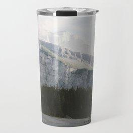 Airy Mountain Lake - Landscape Photography Travel Mug