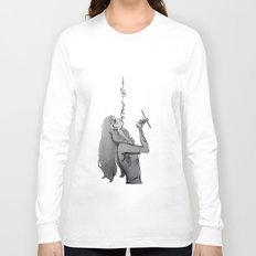 arabic art Long Sleeve T-shirt