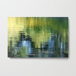 PEACEFUL REFLECTION Metal Print