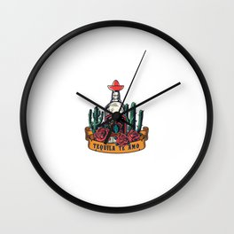 Modelo Colorido Mexicano Vintage Wall Clock