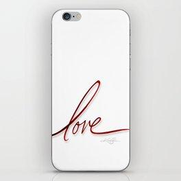 Velvet Love iPhone Skin