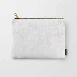 square fantasy marble Carry-All Pouch