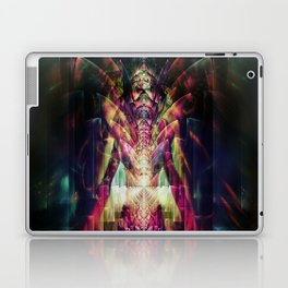 Fractured Girl Laptop & iPad Skin