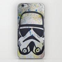 trooper iPhone & iPod Skins featuring Trooper by Cyndi Sabido