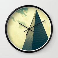 denver Wall Clocks featuring denver by MARONEY