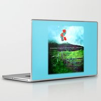 daria Laptop & iPad Skins featuring there is a field... I'll meet you there. by Deepti Munshaw