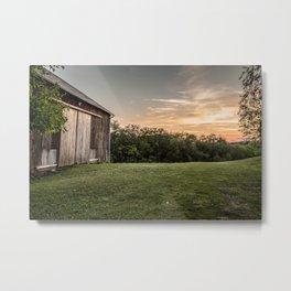 Pennsylvania Barn Metal Print