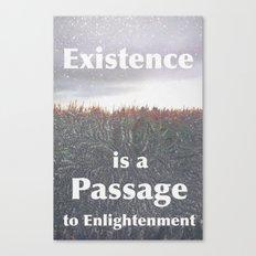 Existence Canvas Print