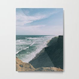Views from the cliff Metal Print